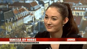 Kvinder og kropsidealer_Forfatter og foredragsholder Vanessa Joy Hobbs interview i Lounge, Tv2 Lorry