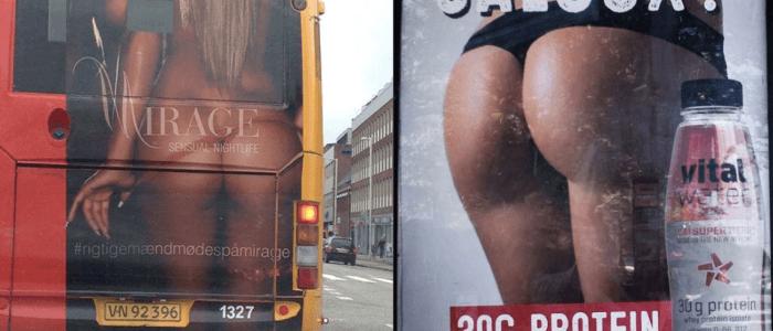 Movia reklame - Røvgod eller sexistisk mindreværdsdyrkelse?
