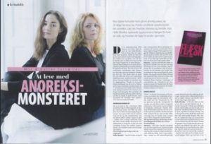 At leve med anoreksi-monstret Vanessa Joy og Helle-Monika Hobbs_Foto fra Femina-interview