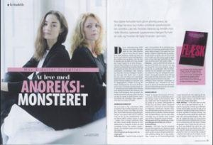 At leve med anoreksi-monstret Vanessa Joy og Helle-Monika Hobbs_Foto fra Femina-interview
