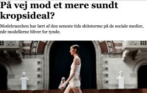 anoreksi og Modebranchens Etiske Charter_Interview Jyllandsposten
