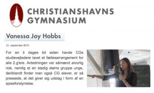 Foredrag for unge - om anoreksi, sociale medier og den sygt sunde præstationskultur
